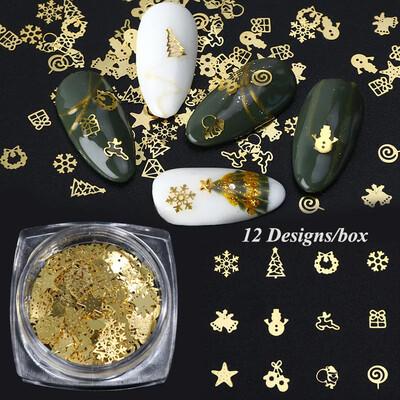 Bijoux de Noel or