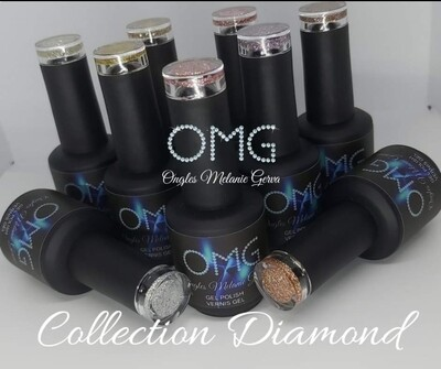 Collection OMG DIAMANT vernis gel