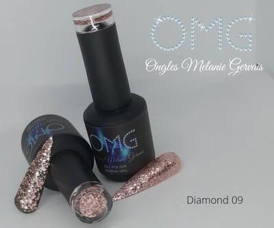 Vernis gel Diamond OMG