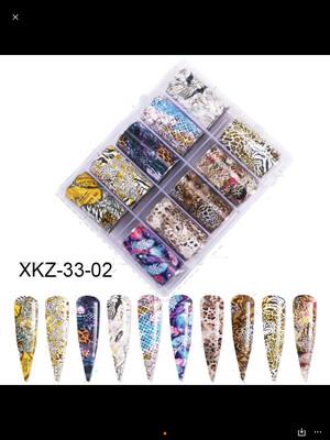 Kit papier foil (7 modèles)