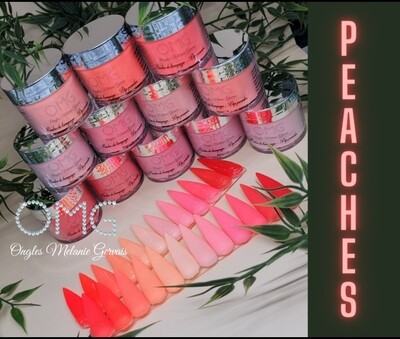 Collection Peaches OMG 12 couleurs