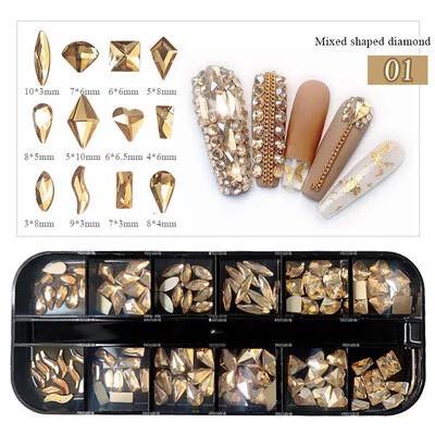 Bijoux central boîtier 12 modèles