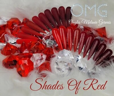 Collection OMG Shades of Red