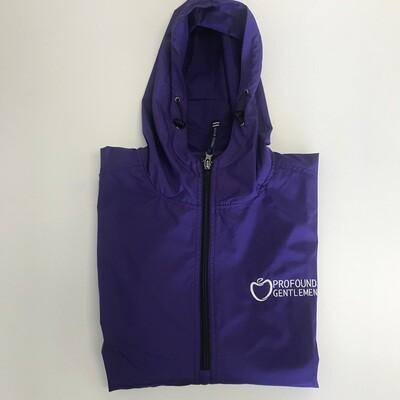 Purple PG Rain Jacket