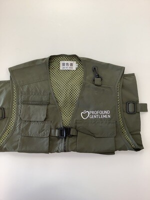 Olive Green James Baldwin Vest