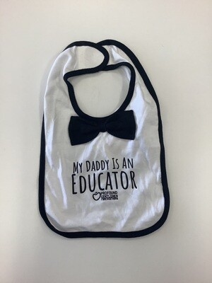 My Daddy Is An Educator Bib