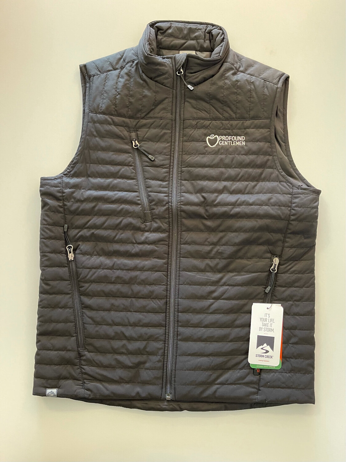 PG Black Bubble Vest