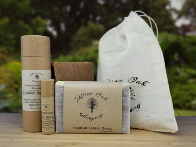 Soap and Balm Bath & Body Gift Set