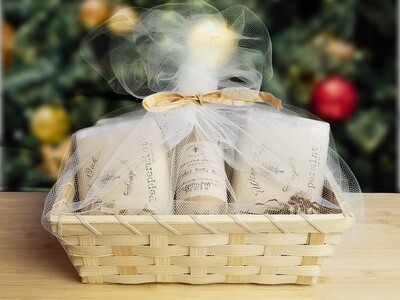 Bamboo Holiday Gift Basket