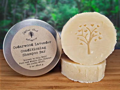 Cedarwood Lavender Conditioning Shampoo Bar