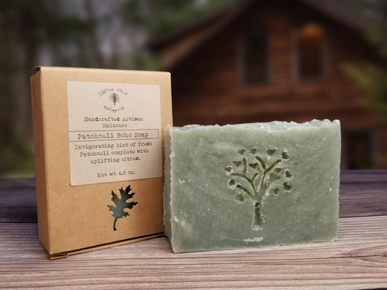 Patchouli Boho Natural Bath and Body Soap