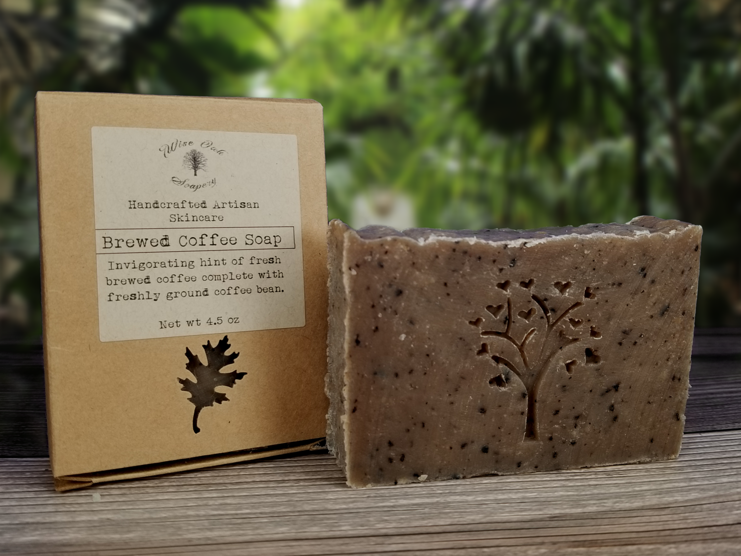 Brewed Coffee Paleo Natural Bath and Body Soap (discontinued)