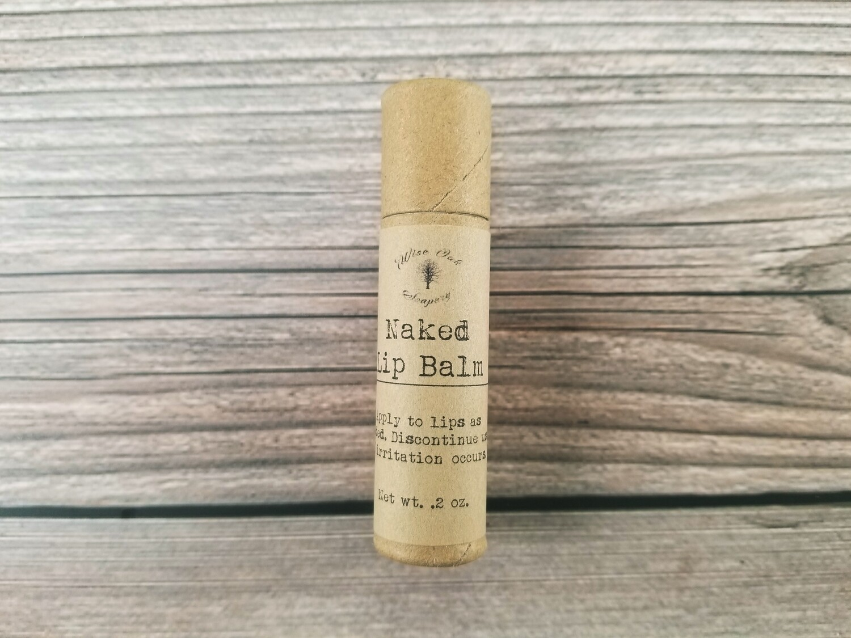 Naked Unscented Paleo Natural Lip Balm