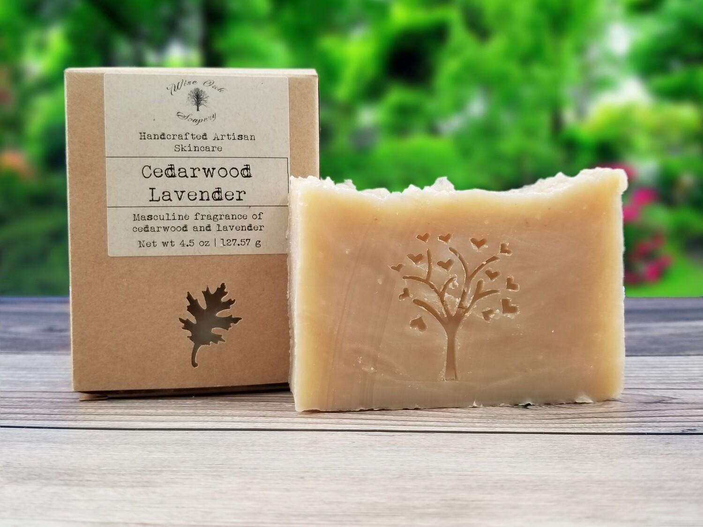Cedarwood Lavender Natural Bath and Body Soap
