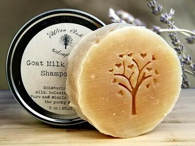 Goat Milk Lavender Shampoo Bar