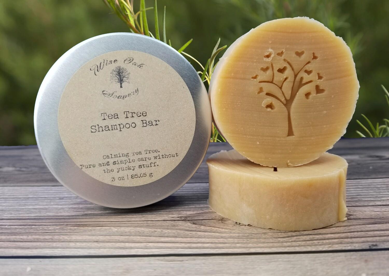 Tea Tree Paleo Shampoo Bar