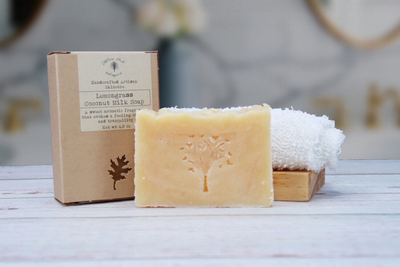 Lemongrass Paleo Coconut Milk Natural Bath and Body Soap