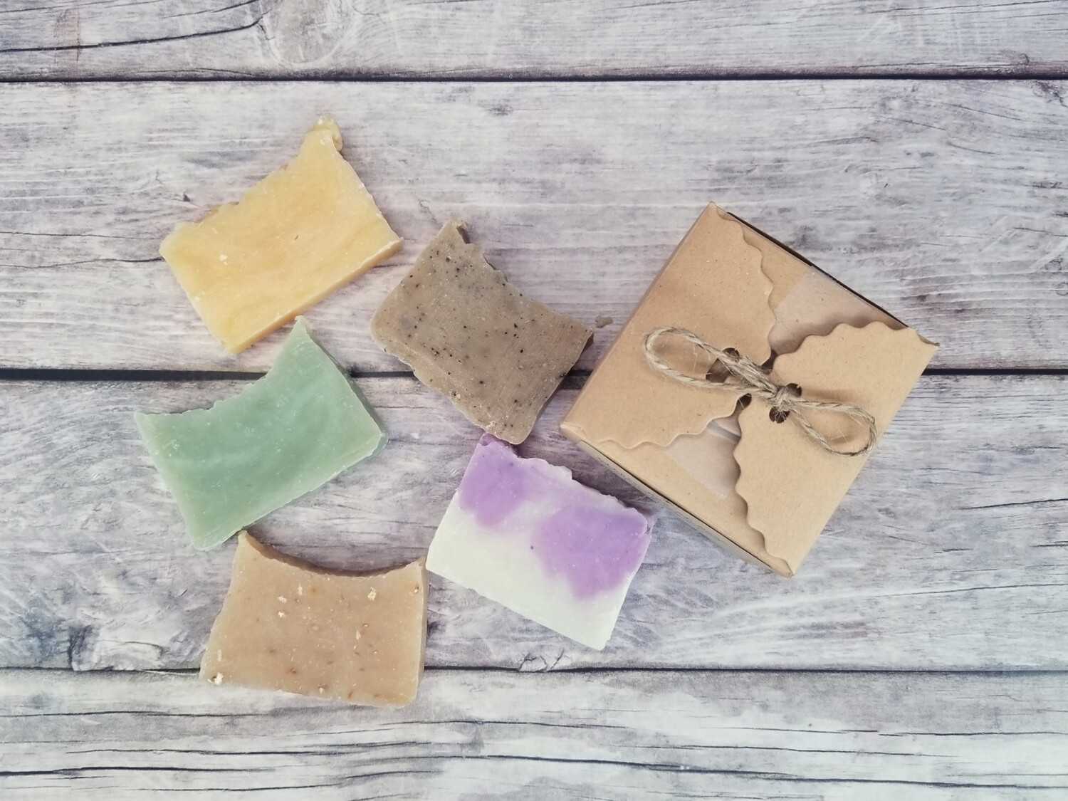 Little Box of Paleo Natural Bath and Body Soap Travel Sample Soap Variety Pack