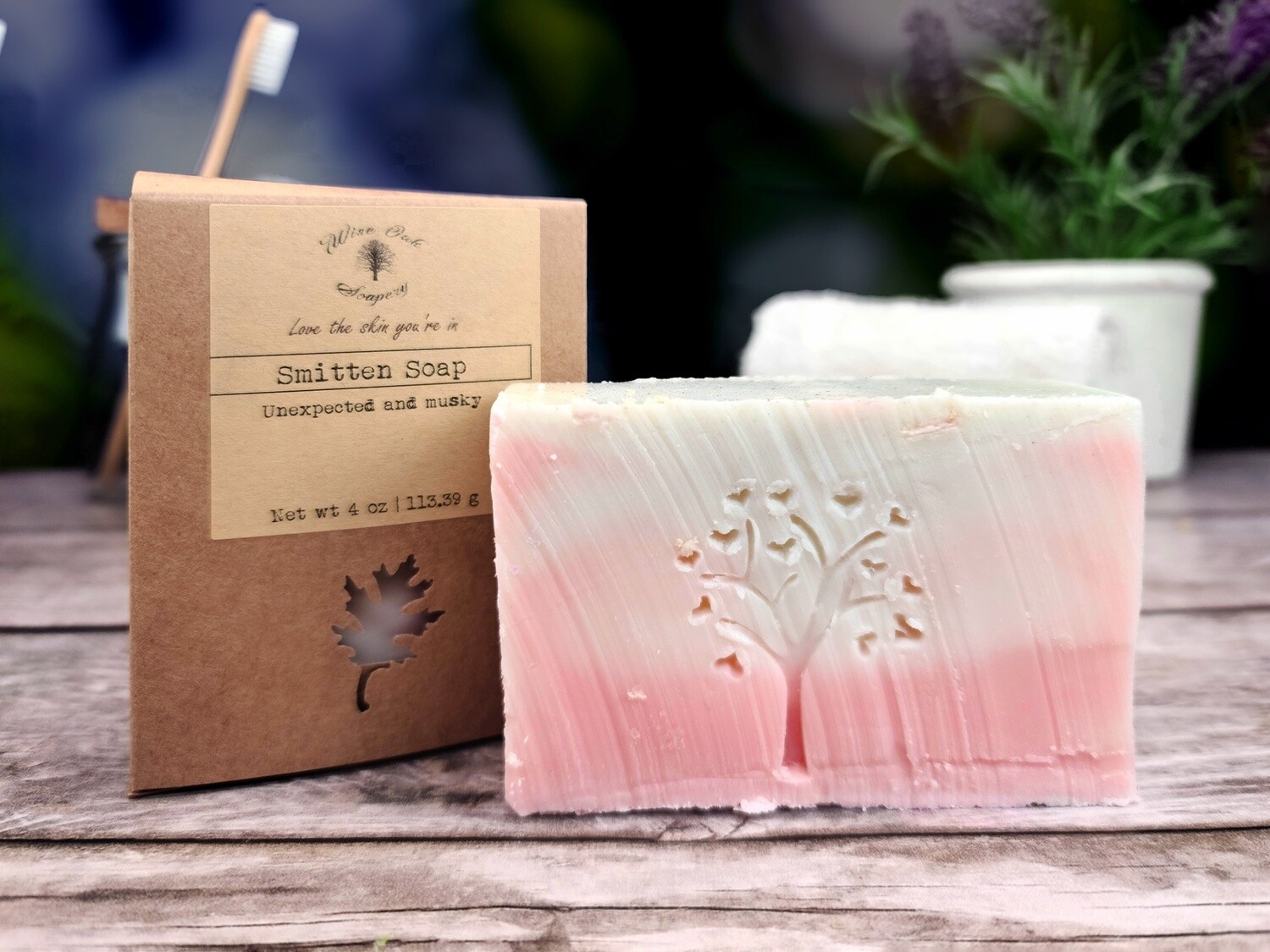 Smitten Natural Bath and Body Soap (Limited Supply)