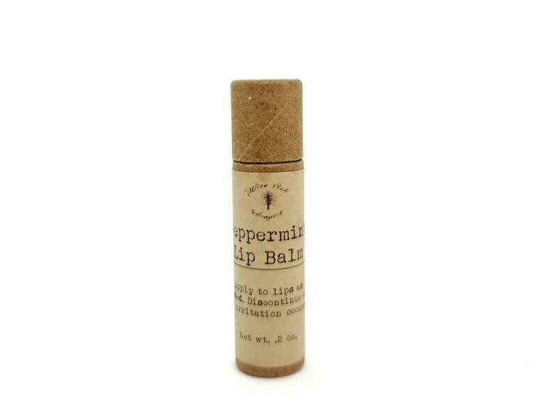 Peppermint Paleo Natural Lip Balm