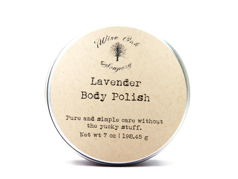 Lavender Body Polish Paleo Body Polish Sugar Scrub