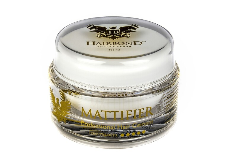 12 X Hairbond® Mattifier Professional Hair Cement 100ml