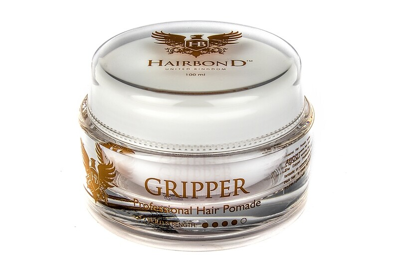 12 X Hairbond® Gripper Professional Hair Pomade 100ml