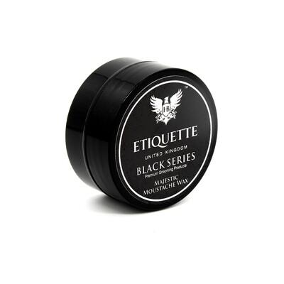 Hairbond® Etiquette - Black Series - Beard (Majestic 15ml Moustache Wax)