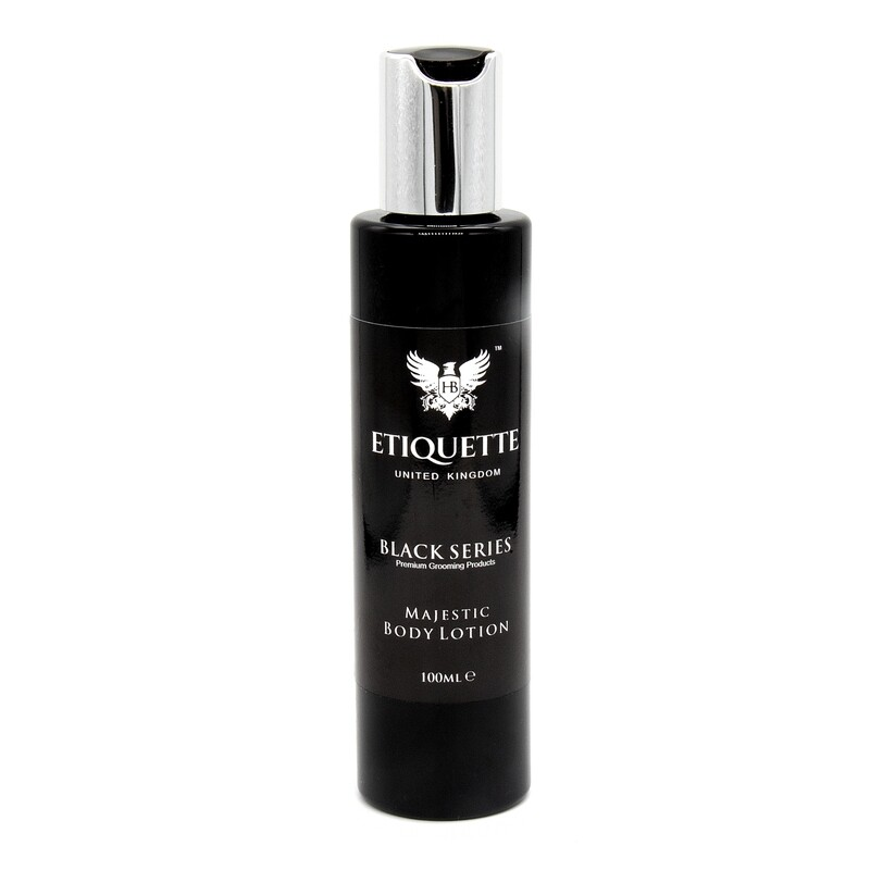 Hairbond® Etiquette - Black Series - Body (Majestic 100ml Body Lotion