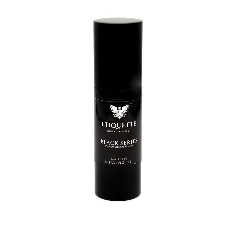 Hairbond® Etiquette- Black Series-Face - 30ml Majestic Shaving Oil