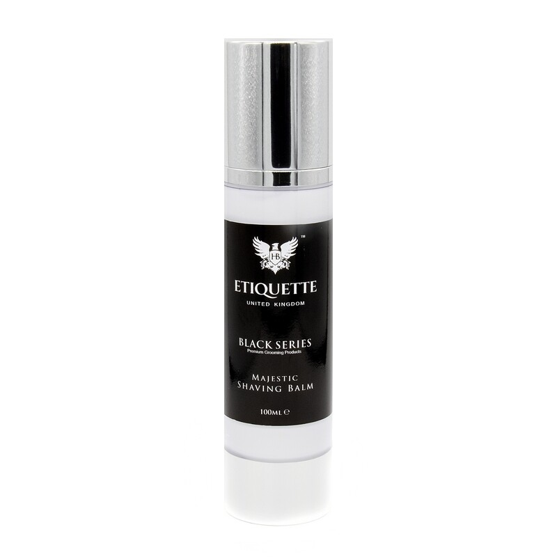 Hairbond® Etiquette - Black Series - Face (Majestic 100ml Shaving Balm)