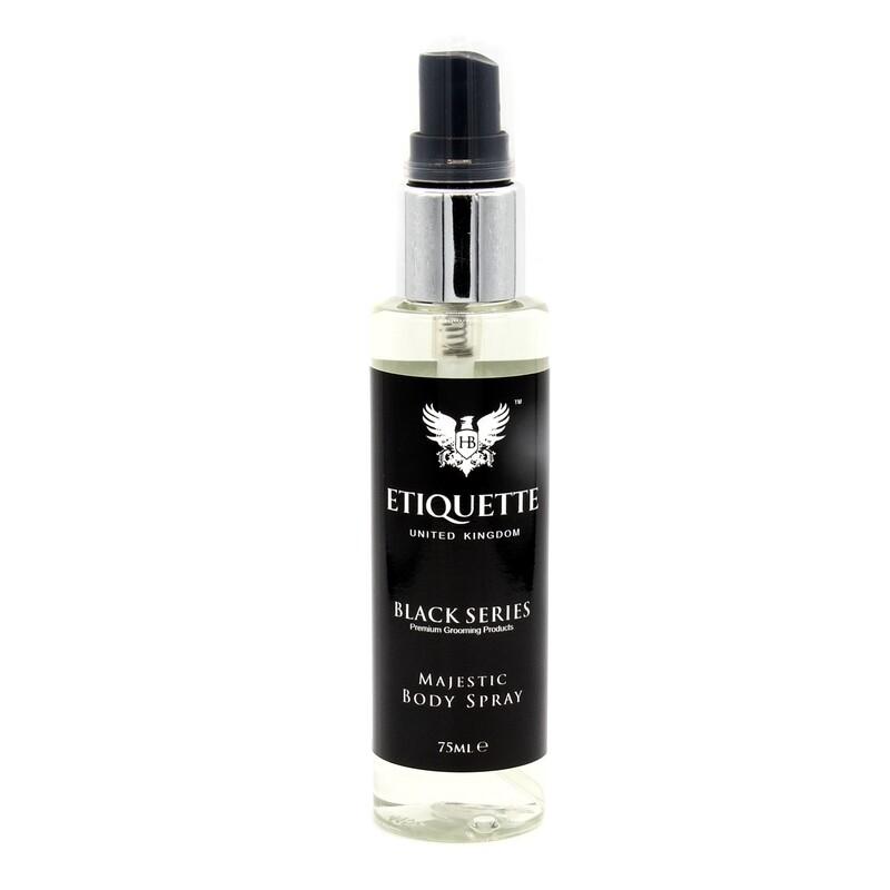 Hairbond® Etiquette - Black Series - Body (Majestic 75ml Body Perfume)