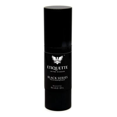 Hairbond® Etiquette - Black Series - Beard (Majestic 30ml Beard Oil)