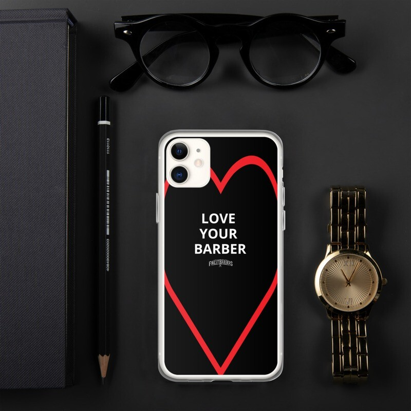Finest Barbers© Love your Barber iPhone Case