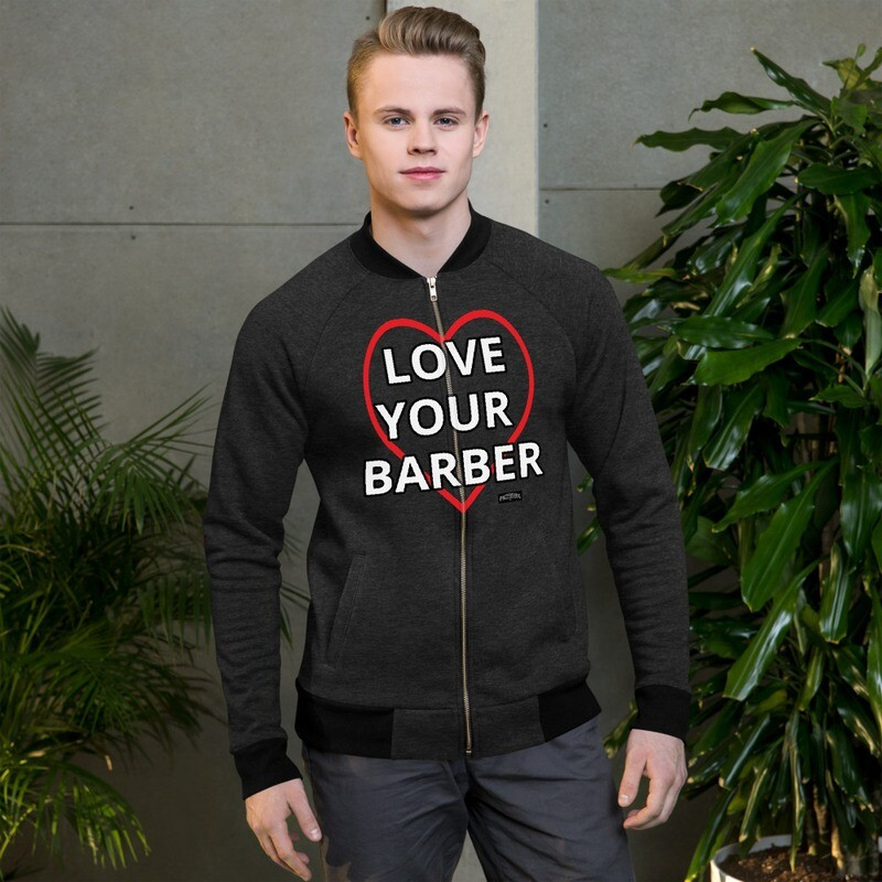 Finest Barbers© Love your Barber Bomber Jacket