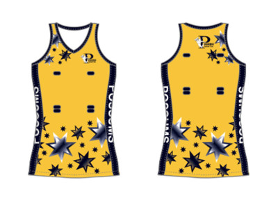 POSSUMS NETBALL DRESS