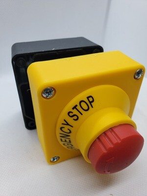 E-STOP PUSH BUTTON SWITCH, SURFACE MOUNT