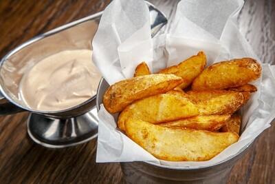 Картофель деревенский с паприкой