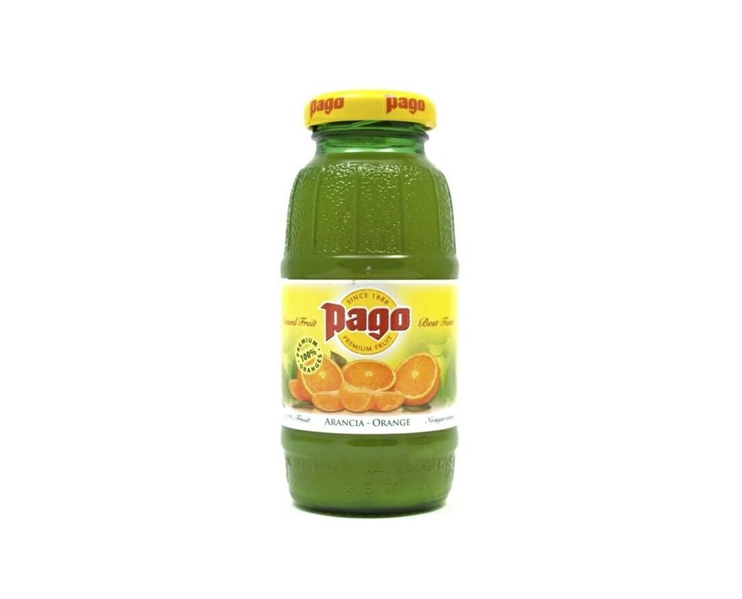 Сок Pago Апельсин 200 мл.
