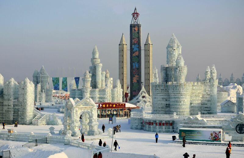 8D Harbin Ice & Snow Tour