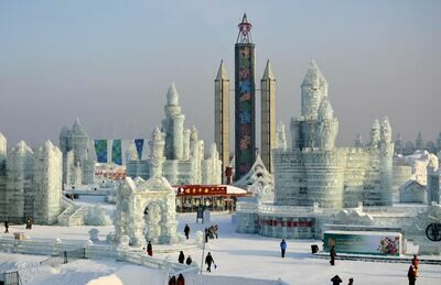 8D Harbin Ice & Snow Tour