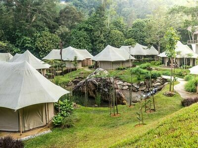 2D1N / 3D2N Tiarasa Escapes Glamping Resort @ Janda Baik