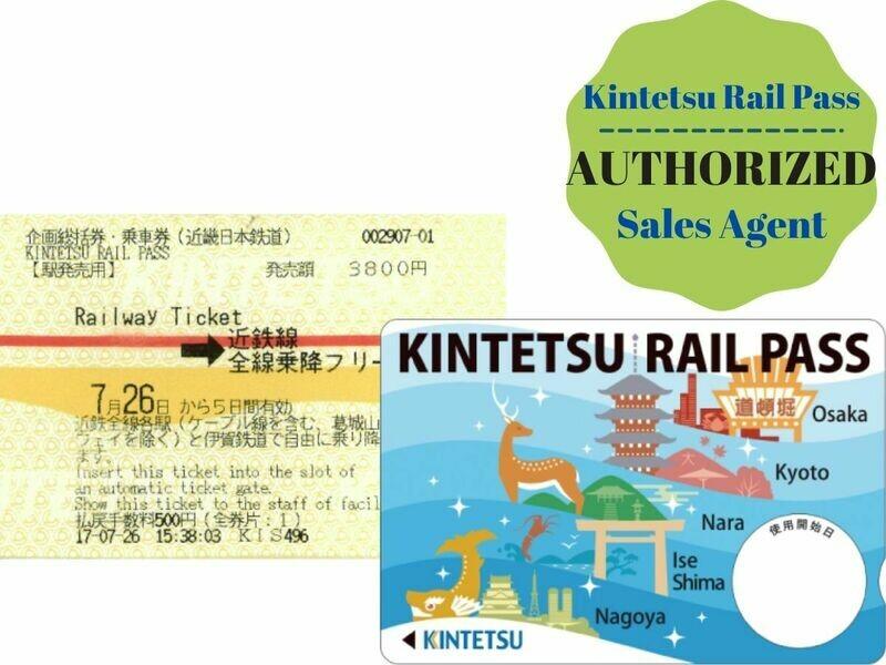 KINTETSU RAIL PASS I 5 Day Unlimited Rides Pass