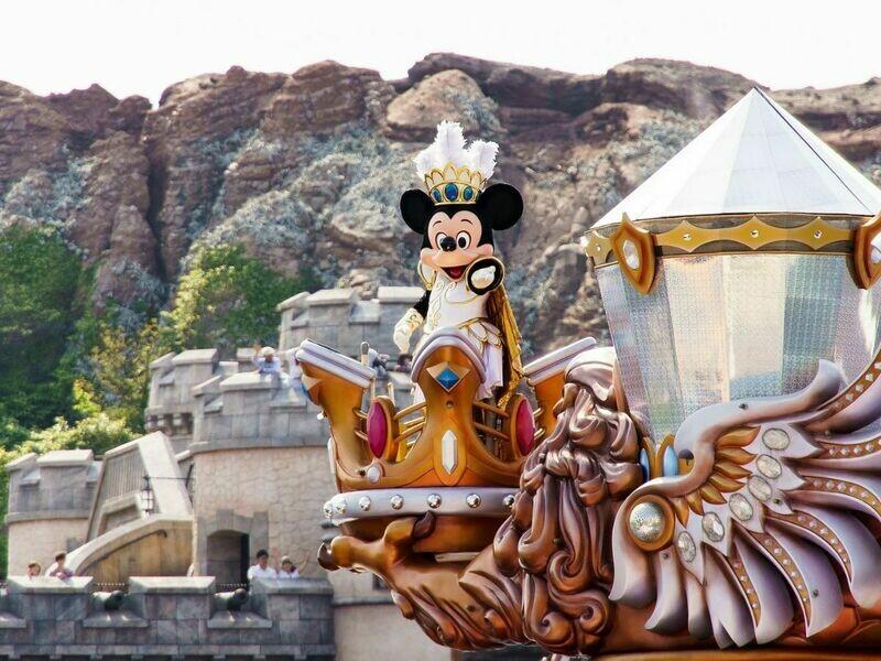 4D Tokyo Disney + Mt Fuji l HND