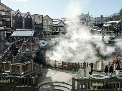 6D  Tokyo Mt Fuji & Gunma IKAHO Onsen Experience Tour l HND