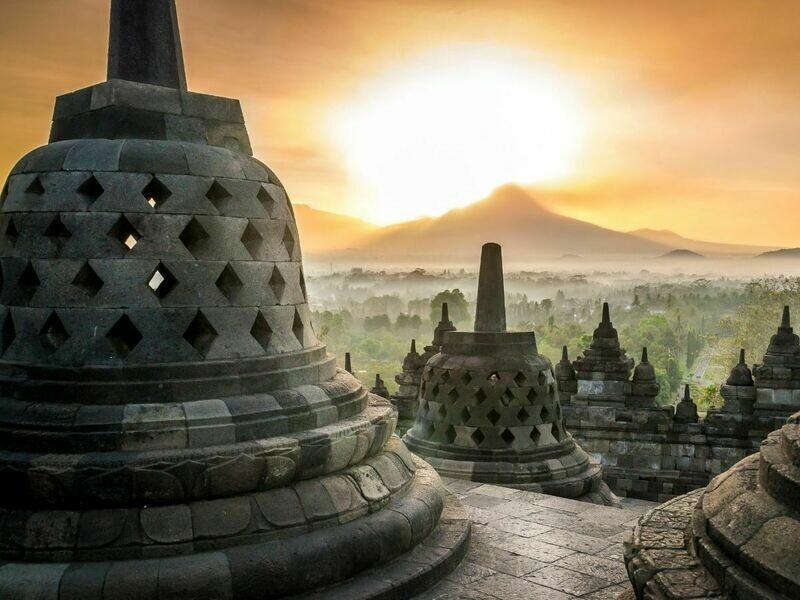 4D3N Dieng Plateau - Borobudur Tour