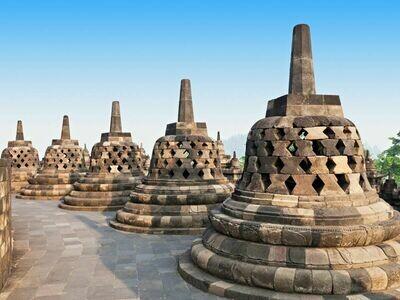 1D Borobudur - Gerobak Sapi