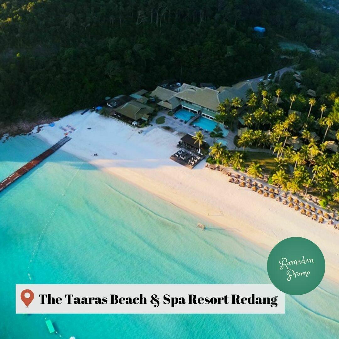3D2N The Taaras Beach & Spa Resort Redang Island (Ramadan Promo)