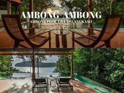 3D2N Private Pool Villa Honeymoon Package @ Ambong- Ambong Pool Villas Langkawi