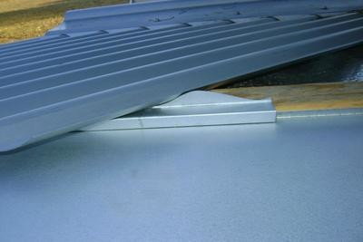 Hip and Valley Roofing Seal profiles